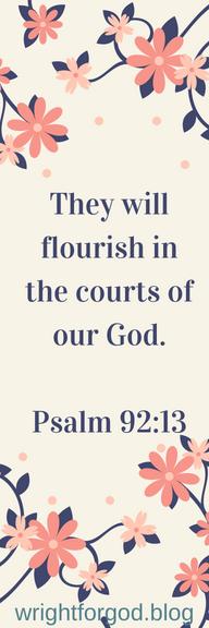 Bookmark - Flourish