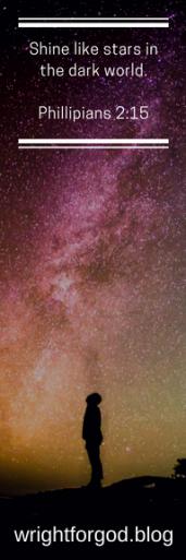 Bookmark - Shine Like Stars